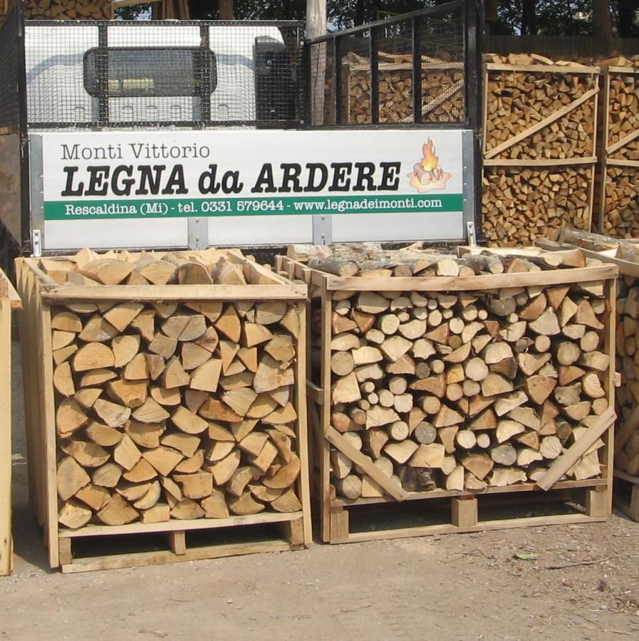 Immagine 59 60 legna in bancali for Legna da ardere prezzi